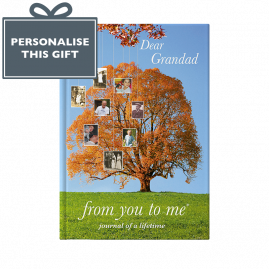 Memory Book for Grandad Tree by from you to me the give and get back book