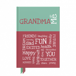 Grandma and Me interactive journal by from you to me
