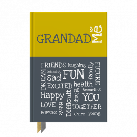 Grandad and Me interactive journal by from you to me