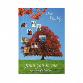 Memory book for Daddy tree cover by from you to me