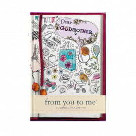 guided memory journal for Dear Godmother (sketch) for Mothers by from you to me