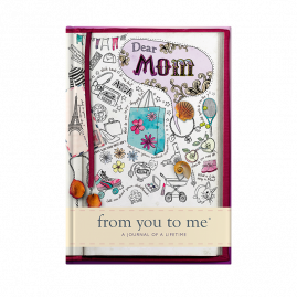 guided memory journal for Mom sketch cover