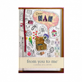 Nan memory journal book sketch cover by from you to me
