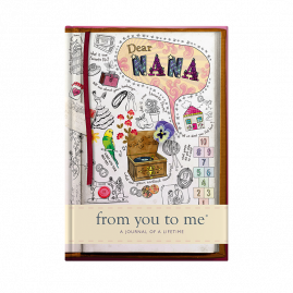 nana memory journal sketch cover by from you to me