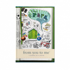 Dear Papa for father tell me memory journal by from you to me