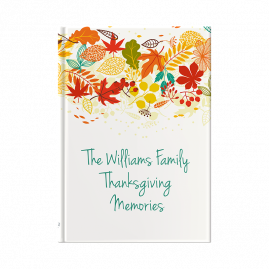 Thanksgiving Memories Journal from you to me