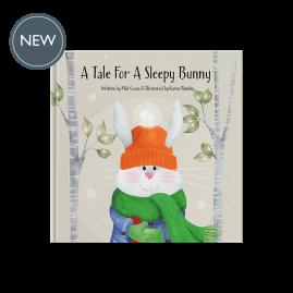 A Tale For A Sleepy Bunny hardback gift book by Míla Coxon