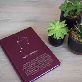 Personalised Foil Blocked Zodiac Notebooks