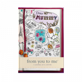 guided memory journal for Mummy sketch cover